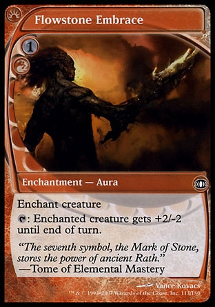 Abraço Rochafluente / Flowstone Embrace-Magic: The Gathering-MoxLand