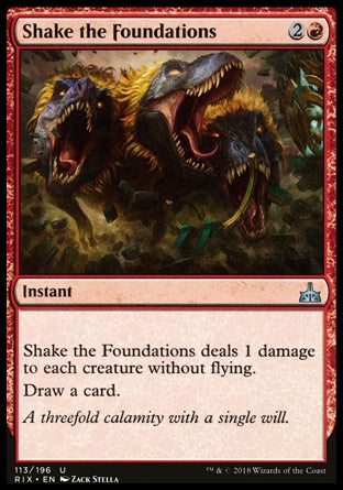 Abalar as Fundações / Shake the Foundations-Magic: The Gathering-MoxLand