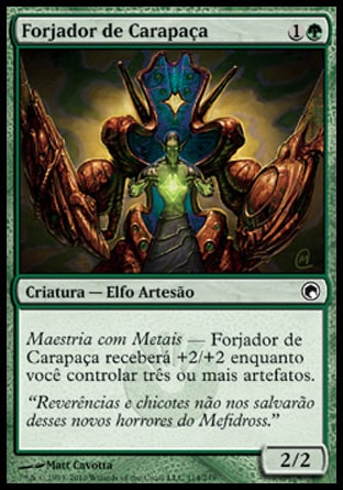 Forjador de Carapaça / Carapace Forger-Magic: The Gathering-MoxLand