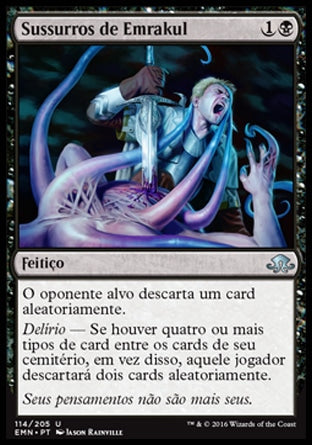 Sussurros de Emrakul / Whispers of Emrakul-Magic: The Gathering-MoxLand