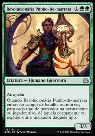 Revolucionária Punho-de-marreta / Maulfist Revolutionary-Magic: The Gathering-MoxLand