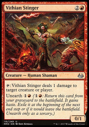 Aguilhoador Vithiano / Vithian Stinger-Magic: The Gathering-MoxLand