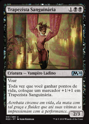 Trapezista Sanguinária / Bloodthirsty Aerialist-Magic: The Gathering-MoxLand