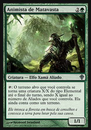 Animista de Matavasta / Vastwood Animist-Magic: The Gathering-MoxLand