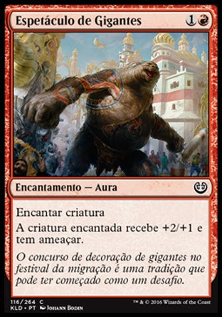 Espetáculo de Gigantes / Giant Spectacle-Magic: The Gathering-MoxLand