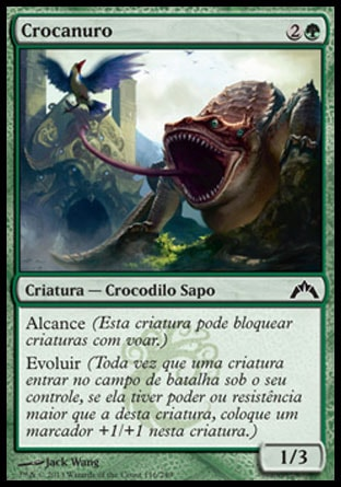 Crocanuro / Crocanura-Magic: The Gathering-MoxLand