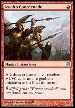 Assalto Coordenado / Coordinated Assault-Magic: The Gathering-MoxLand