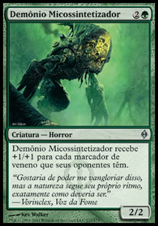 Demônio Micossintetizador / Mycosynth Fiend-Magic: The Gathering-MoxLand