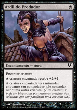 Ardil do Predador / Predator's Gambit-Magic: The Gathering-MoxLand