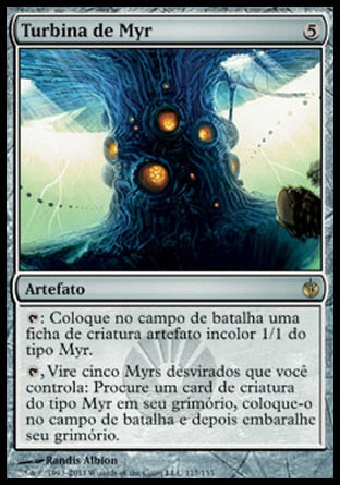 Turbina de Myr / Myr Turbine-Magic: The Gathering-MoxLand