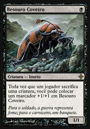Besouro Coveiro / Mortician Beetle-Magic: The Gathering-MoxLand