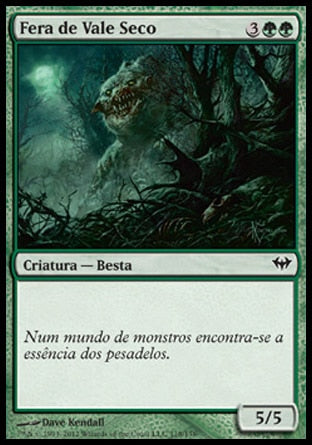 Fera de Vale Seco / Hollowhenge Beast-Magic: The Gathering-MoxLand