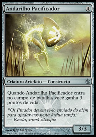 Andarilho Pacificador / Peace Strider-Magic: The Gathering-MoxLand