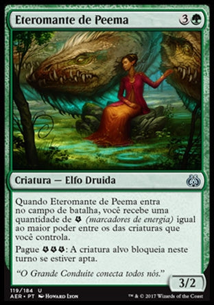 Eteromante de Peema / Peema Aether-Seer-Magic: The Gathering-MoxLand