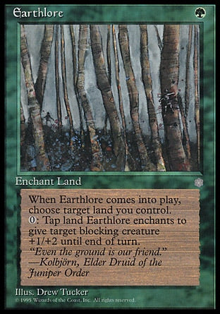 Conhecimento do Solo / Earthlore-Magic: The Gathering-MoxLand