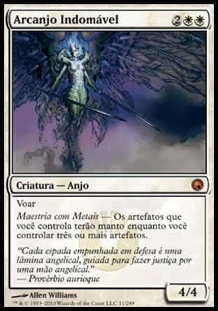 Arcanjo Indomável / Indomitable Archangel-Magic: The Gathering-MoxLand
