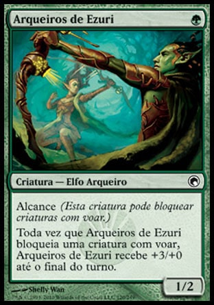 Arqueiros de Ezuri / Ezuri's Archers-Magic: The Gathering-MoxLand
