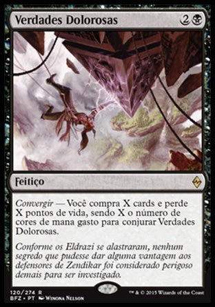Verdades Dolorosas / Painful Truths-Magic: The Gathering-MoxLand
