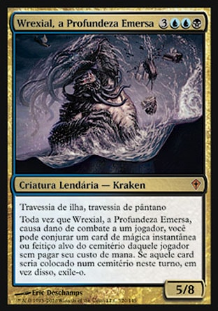 Wrexial, a Profundeza Emersa / Wrexial, the Risen Deep-Magic: The Gathering-MoxLand