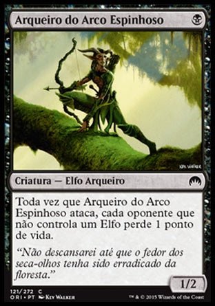 Arqueiro do Arco Espinhoso / Thornbow Archer-Magic: The Gathering-MoxLand