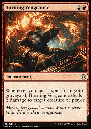 Vingança Incandescente / Burning Vengeance-Magic: The Gathering-MoxLand
