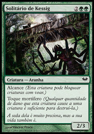 Solitário de Kessig / Kessig Recluse-Magic: The Gathering-MoxLand