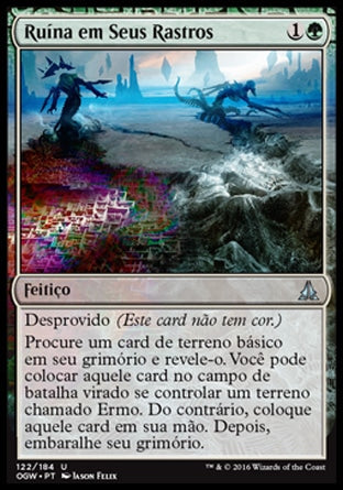 Ruína em Seus Rastros / Ruin in Their Wake-Magic: The Gathering-MoxLand