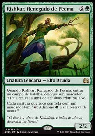 Rishkar, Renegado de Peema / Rishkar, Peema Renegade-Magic: The Gathering-MoxLand