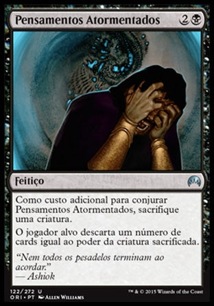 Pensamentos Atormentados / Tormented Thoughts-Magic: The Gathering-MoxLand