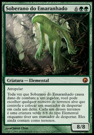 Soberano do Emaranhado / Liege of the Tangle-Magic: The Gathering-MoxLand