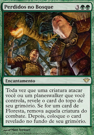 Perdidos no Bosque / Lost in the Woods-Magic: The Gathering-MoxLand
