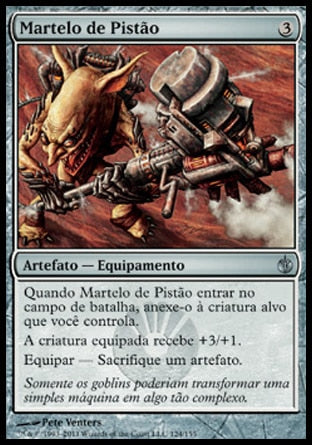 Martelo de Pistão / Piston Sledge-Magic: The Gathering-MoxLand