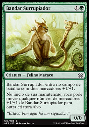 Bandar Surrupiador / Scrounging Bandar-Magic: The Gathering-MoxLand