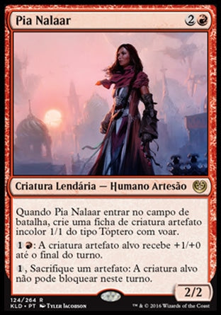 Pia Nalaar / Pia Nalaar-Magic: The Gathering-MoxLand