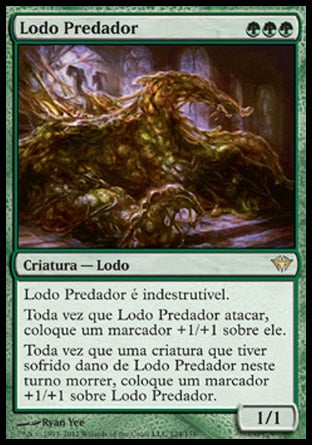 Lodo Predador / Predator Ooze-Magic: The Gathering-MoxLand