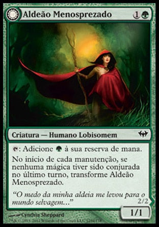 Aldeão Menosprezado / Scorned Villager-Magic: The Gathering-MoxLand