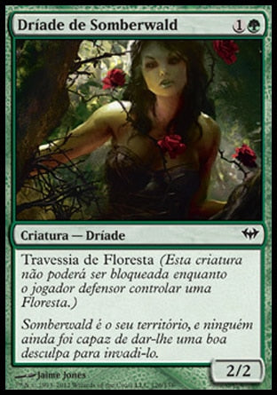 Dríade de Somberwald / Somberwald Dryad-Magic: The Gathering-MoxLand