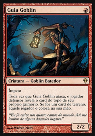 Guia Goblin / Goblin Guide-Magic: The Gathering-MoxLand