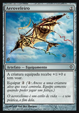 Aeroveleiro / Kitesail-Magic: The Gathering-MoxLand