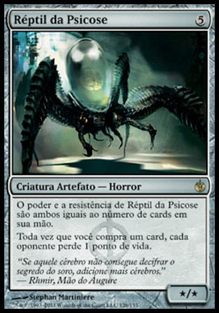 Réptil da Psicose / Psychosis Crawler-Magic: The Gathering-MoxLand