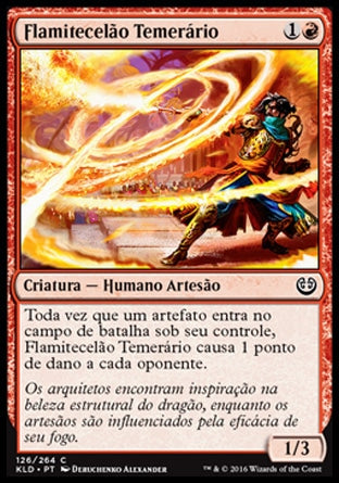 Flamitecelão Temerário / Reckless Fireweaver-Magic: The Gathering-MoxLand