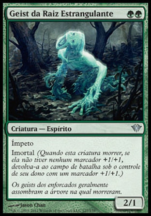Geist da Raiz Estrangulante / Strangleroot Geist-Magic: The Gathering-MoxLand