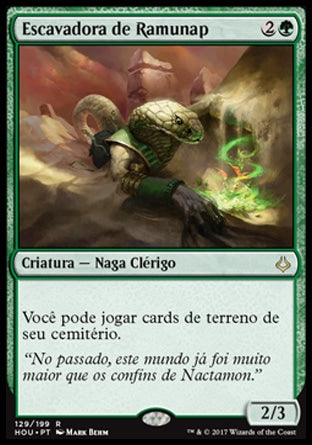 Escavadora de Ramunap / Ramunap Excavator-Magic: The Gathering-MoxLand