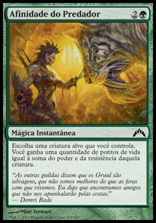 Afinidade do Predador / Predator's Rapport-Magic: The Gathering-MoxLand