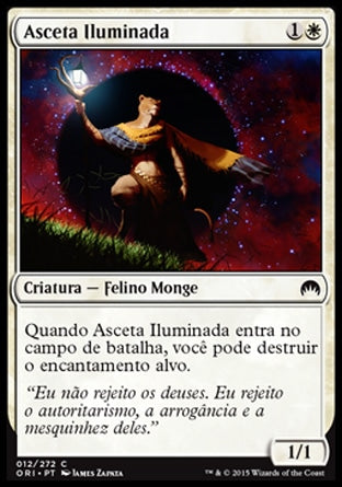 Asceta Iluminada / Enlightened Ascetic-Magic: The Gathering-MoxLand