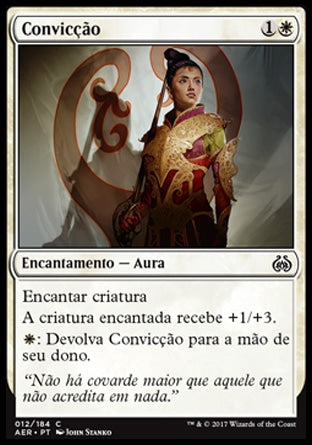 Convicção / Conviction-Magic: The Gathering-MoxLand