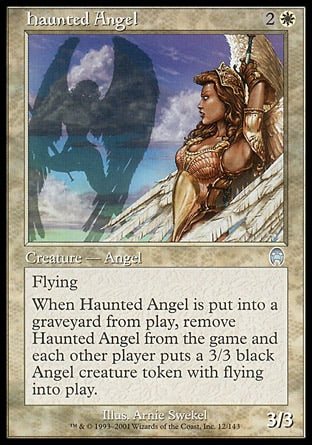 Anjo Assombrado / Haunted Angel-Magic: The Gathering-MoxLand