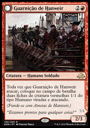 Guarnição de Hanweir / Hanweir Garrison-Magic: The Gathering-MoxLand