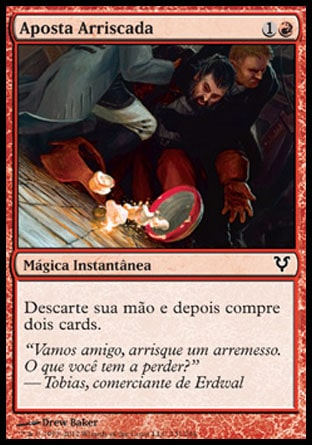 Aposta Arriscada / Dangerous Wager-Magic: The Gathering-MoxLand