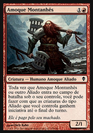Amoque Montanhês / Highland Berserker-Magic: The Gathering-MoxLand